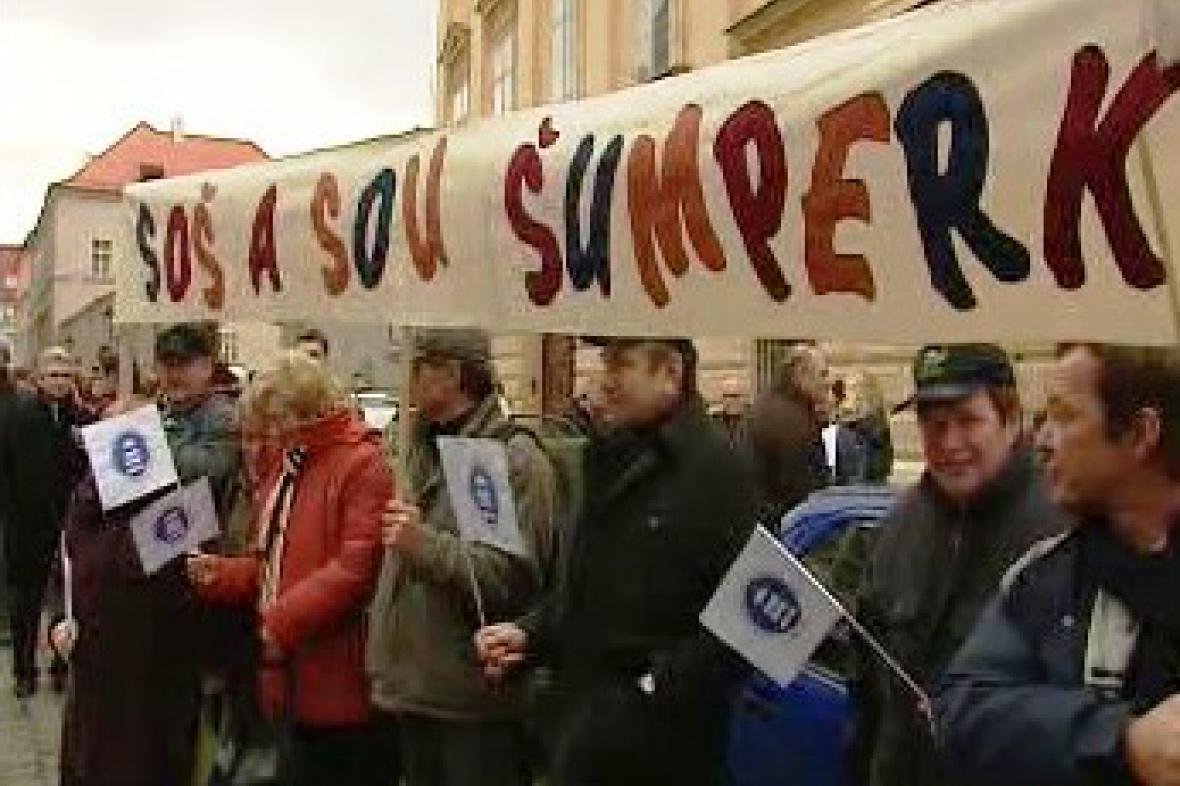 Stávka učitelů