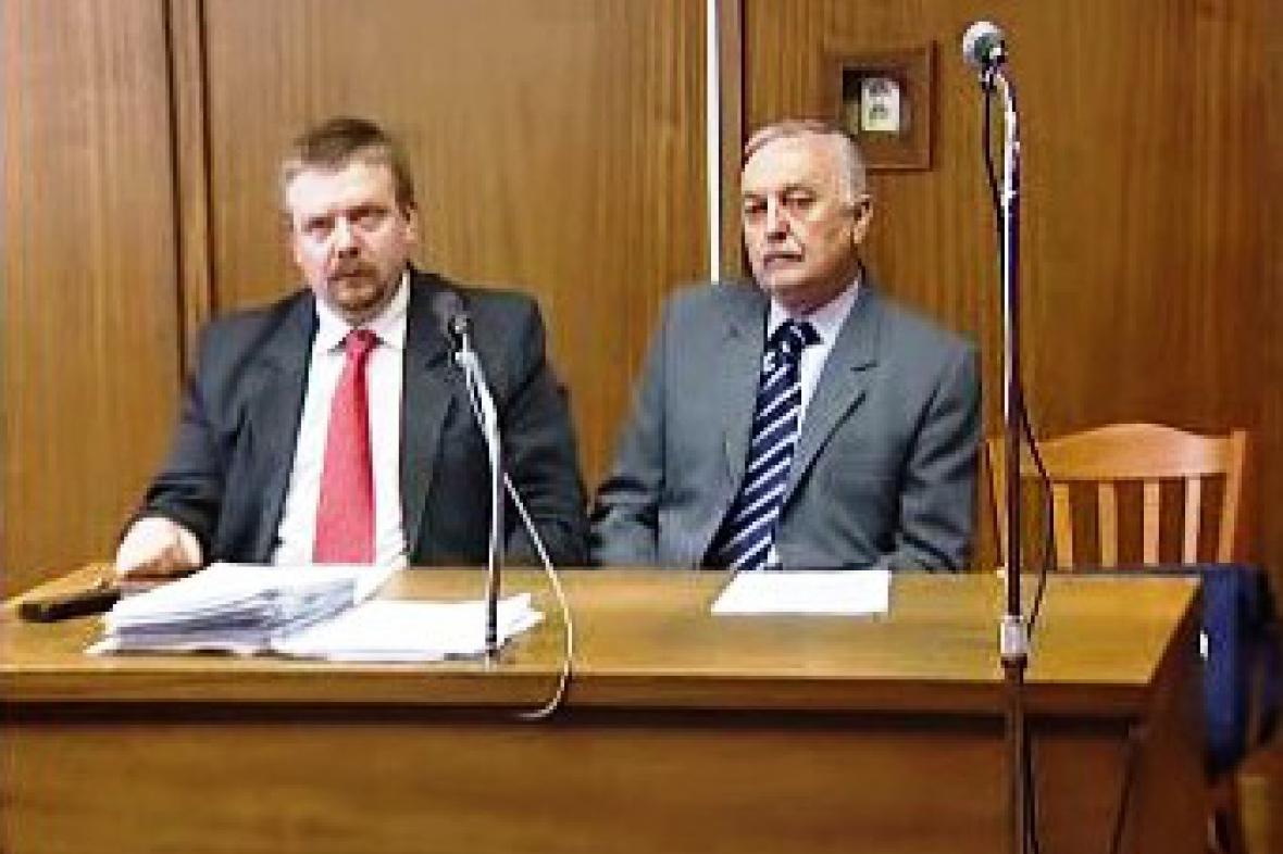 Jaromír Kudlík u soudu