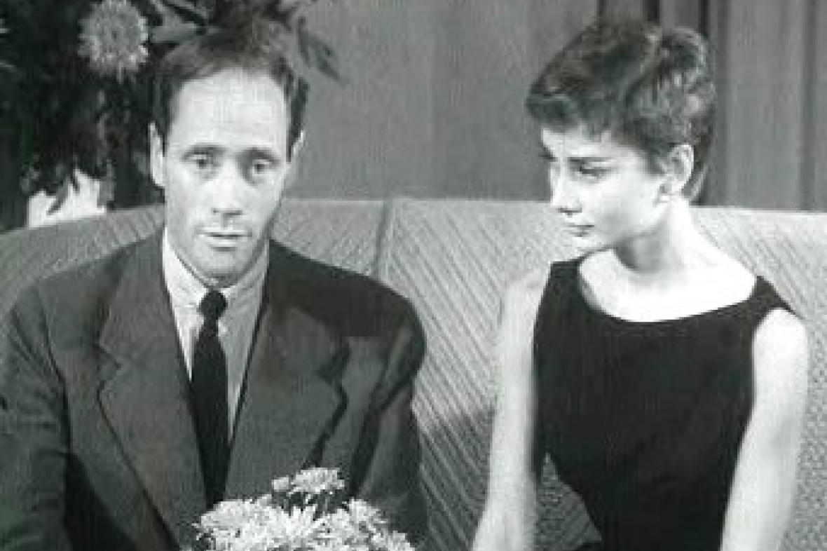 Mel Ferrer a Audrey Hepburnová