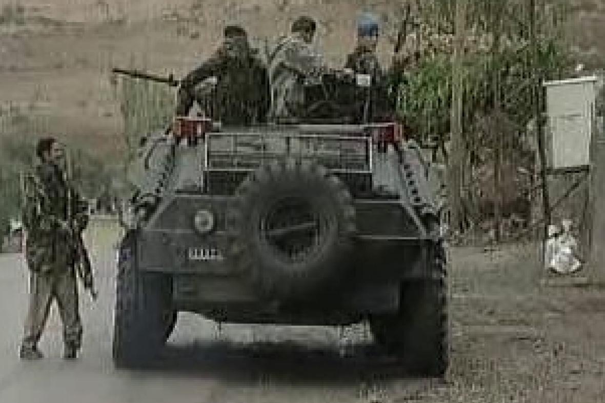 Vojáci na turecko-iráckém pomezí