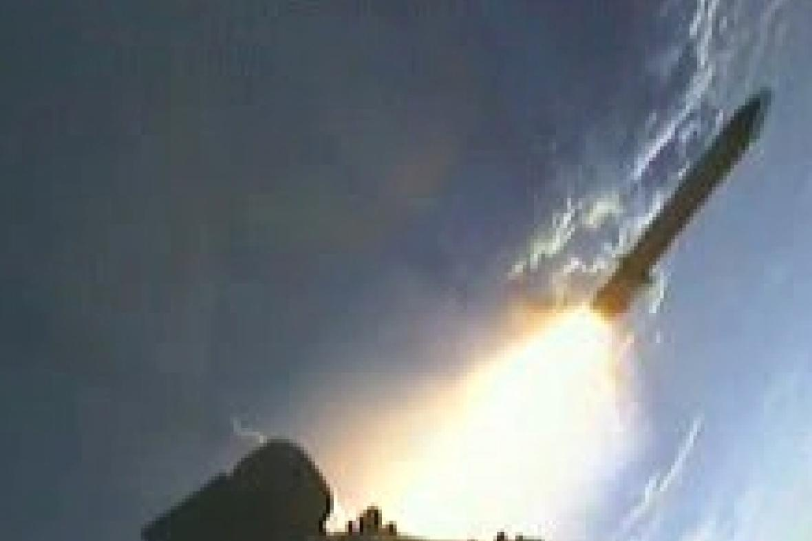 Start raketoplánu