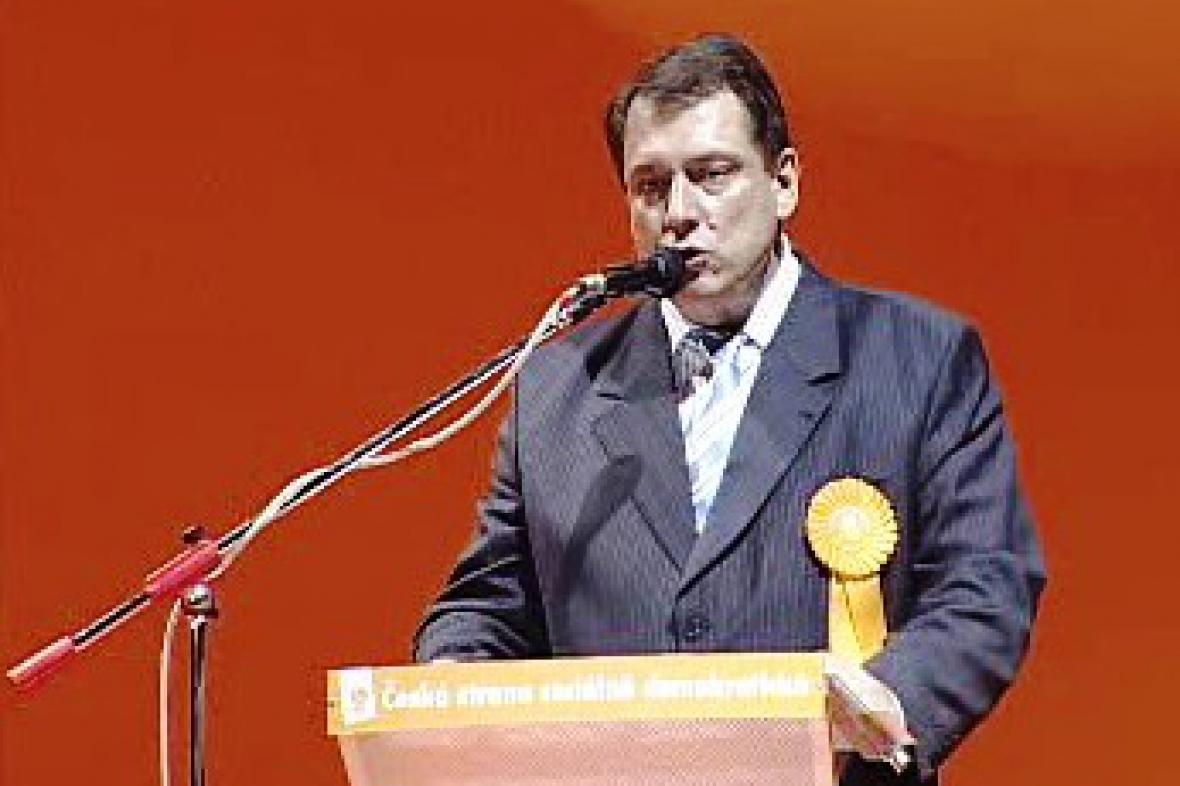 Jiří Paroubek na programové konferenci ČSSD
