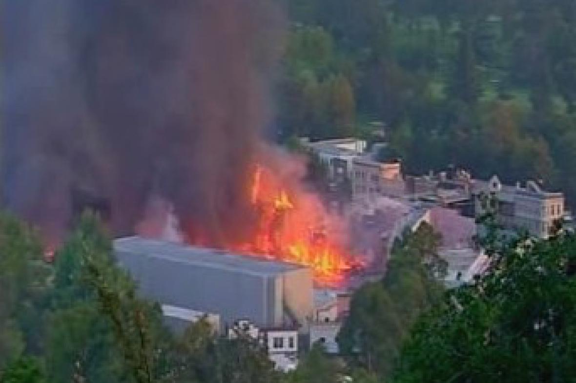 Požár v Universal Studios