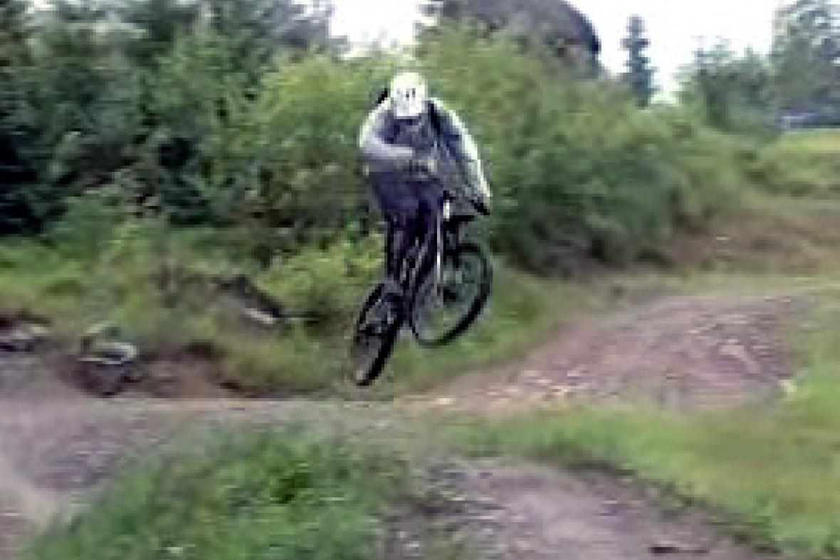 Bike park na Šumavě