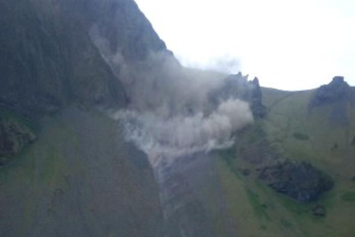 Zemětřesení na Islandu