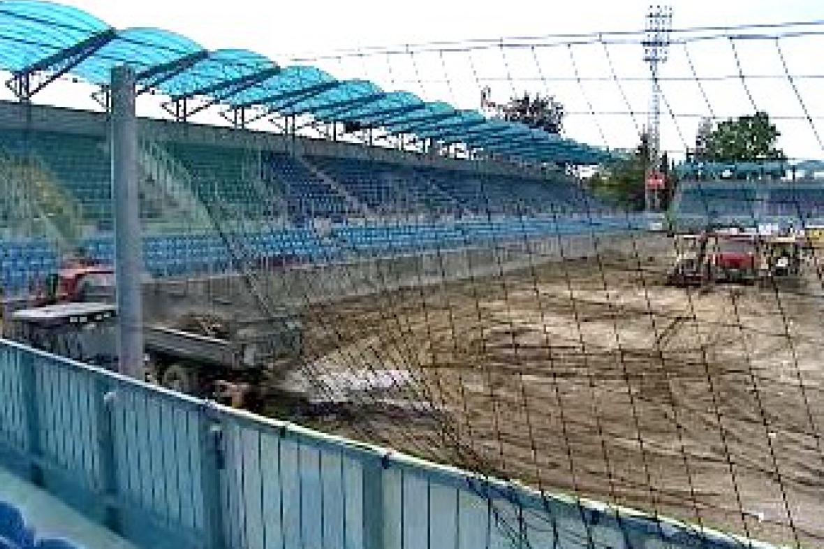 Rekonstruovaný stadion