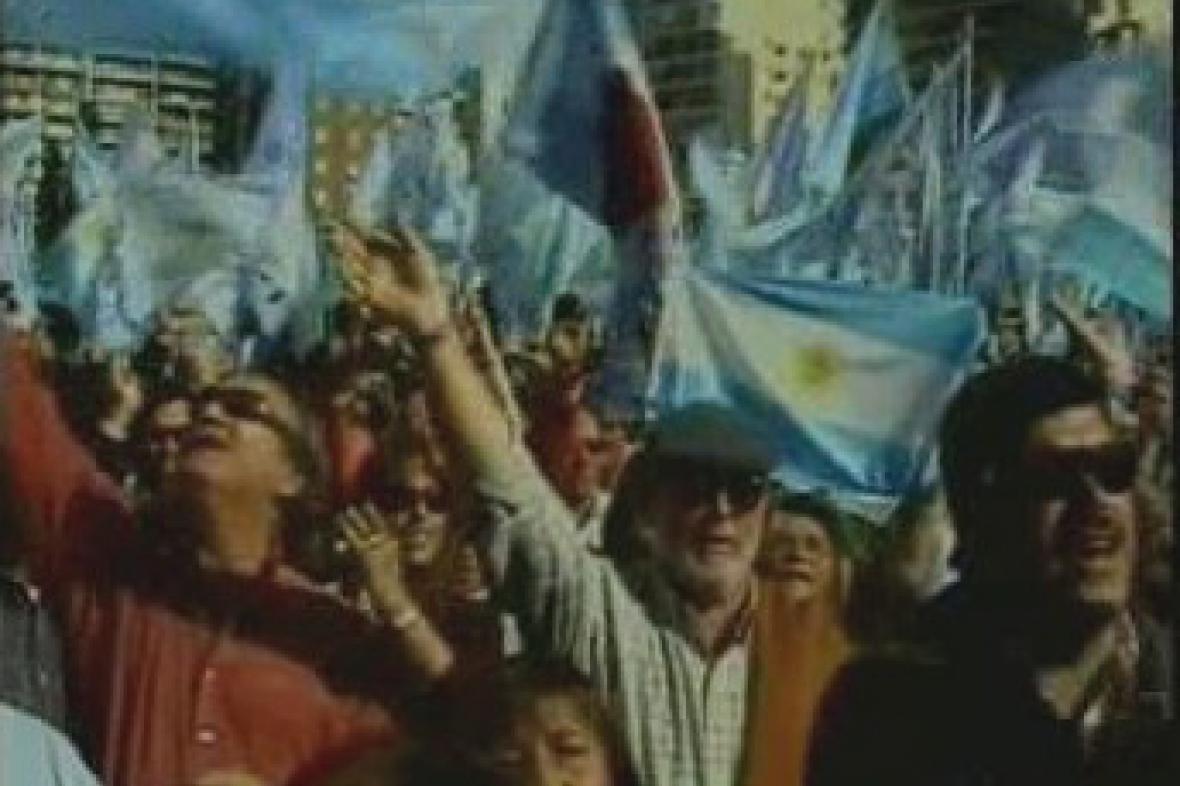 Demonstrace argentinských zemědělců