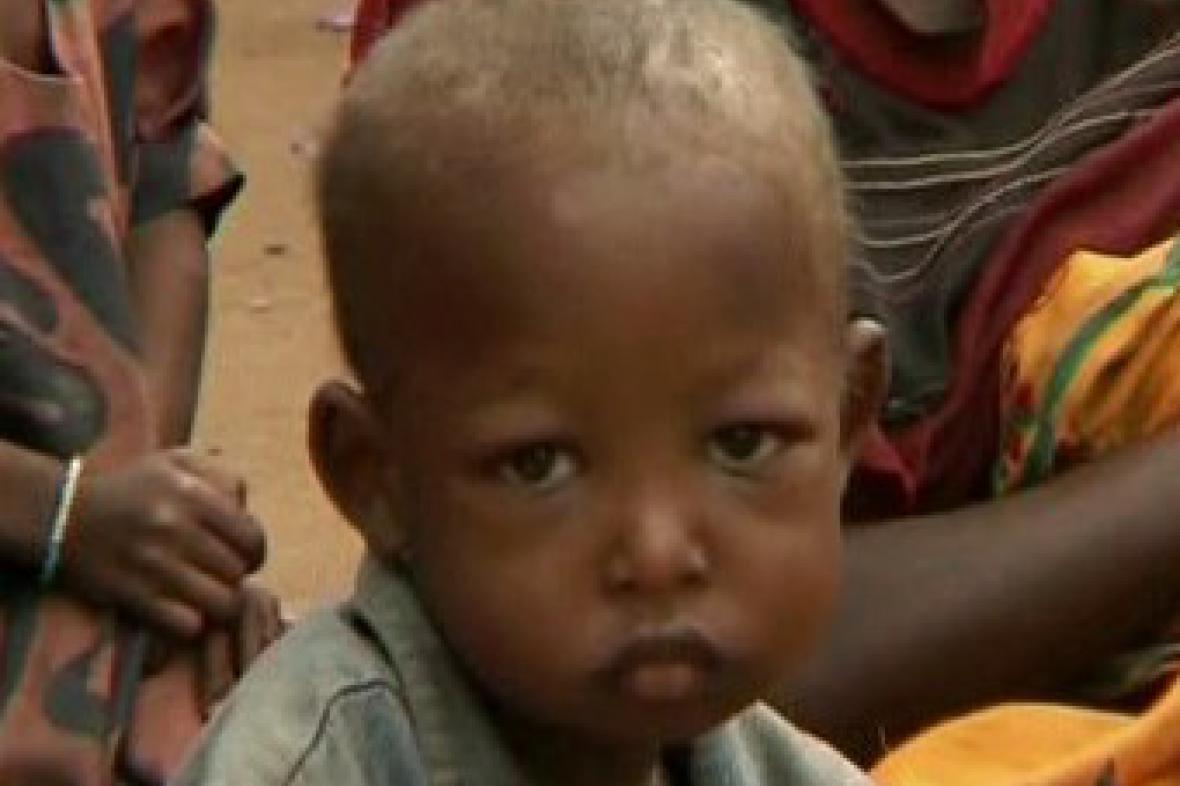 Etiopské dítě