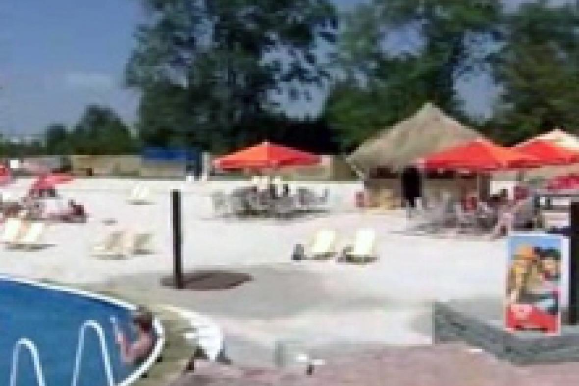 Nepovolená pláž v Plzni