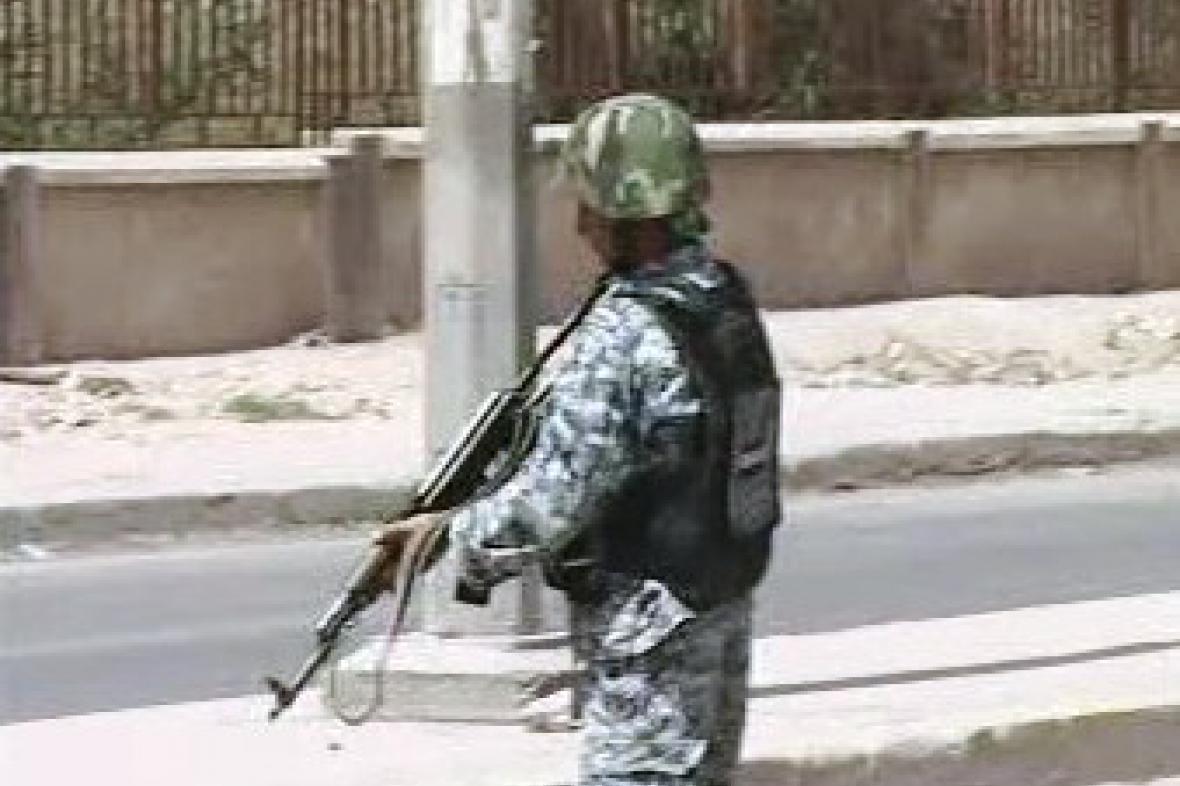 Irácký voják