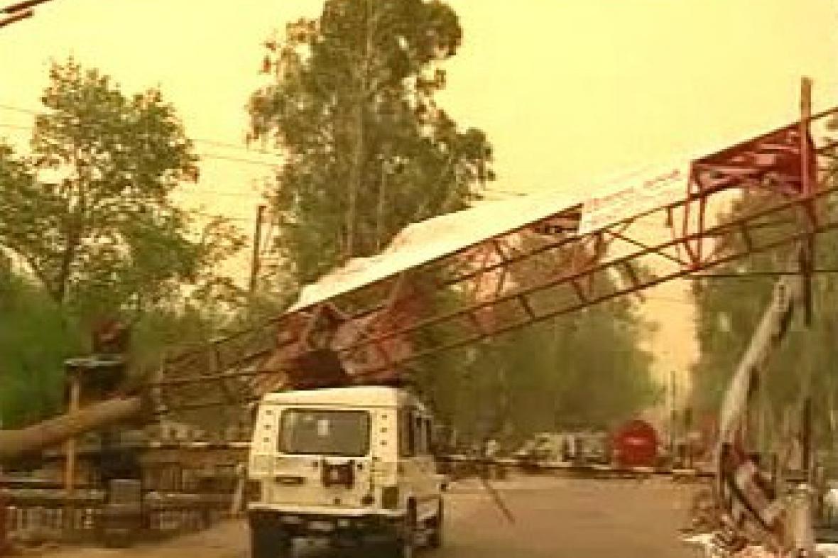 Bouře v Indii