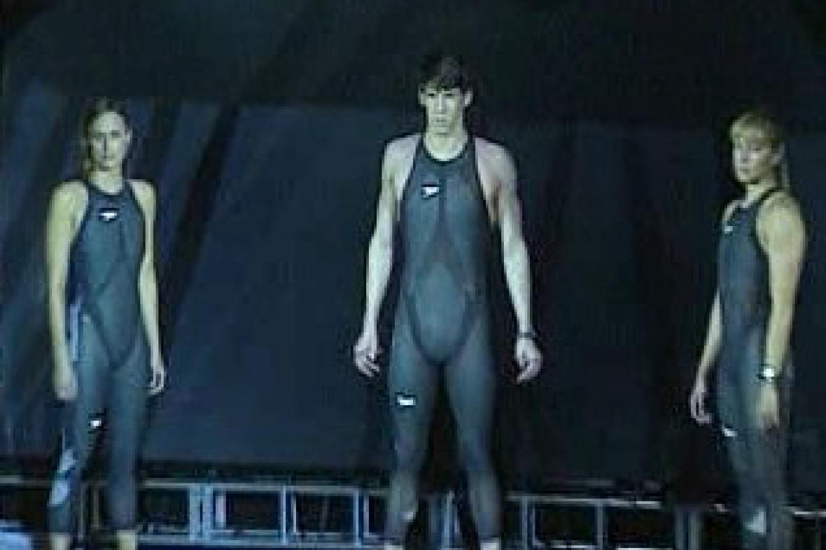 Nové plavky pro olympijské hry