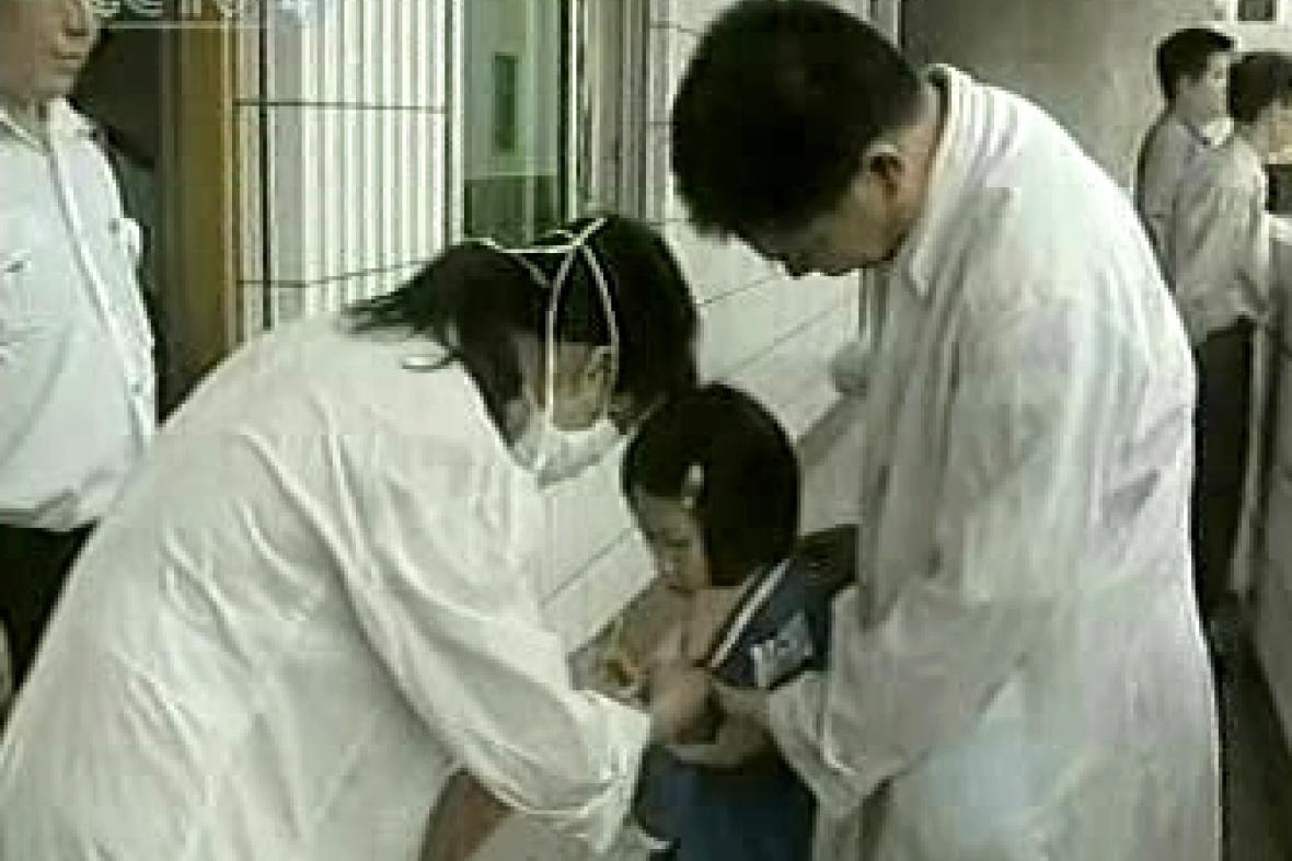 Epidemie enteroviru v Číně