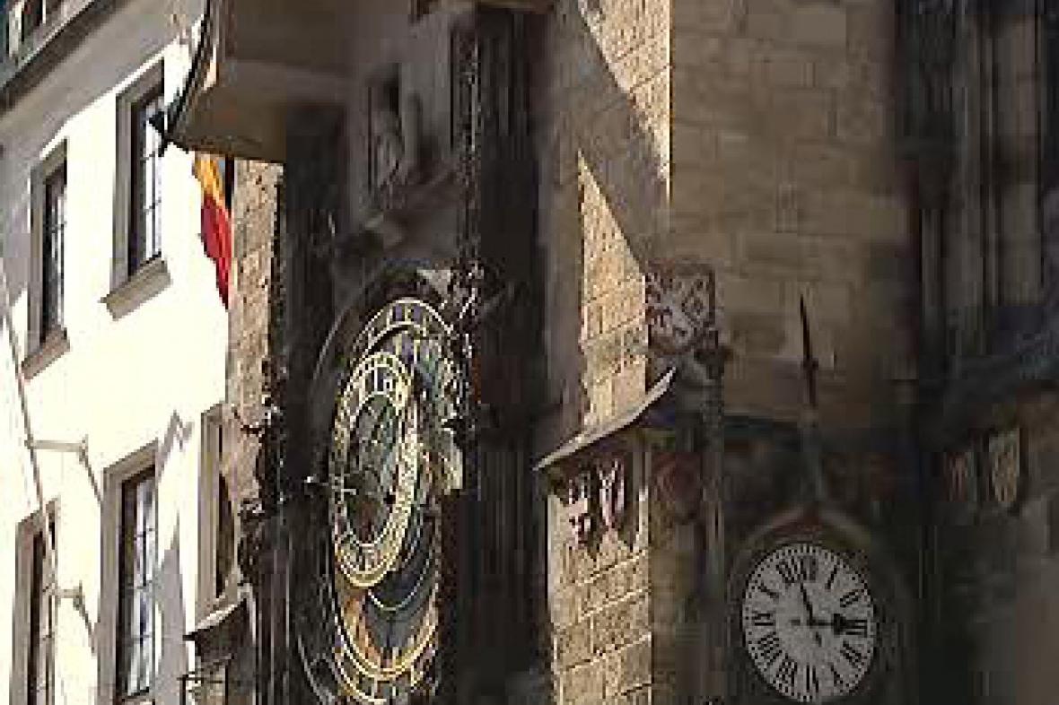 Orloj na Staroměstské radnici