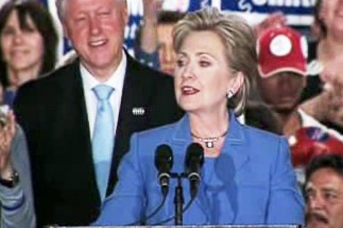 Hillary Clintonová v Západní Virginii