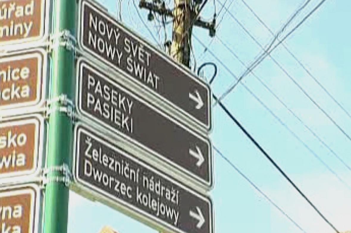 Česko-polské nápisy