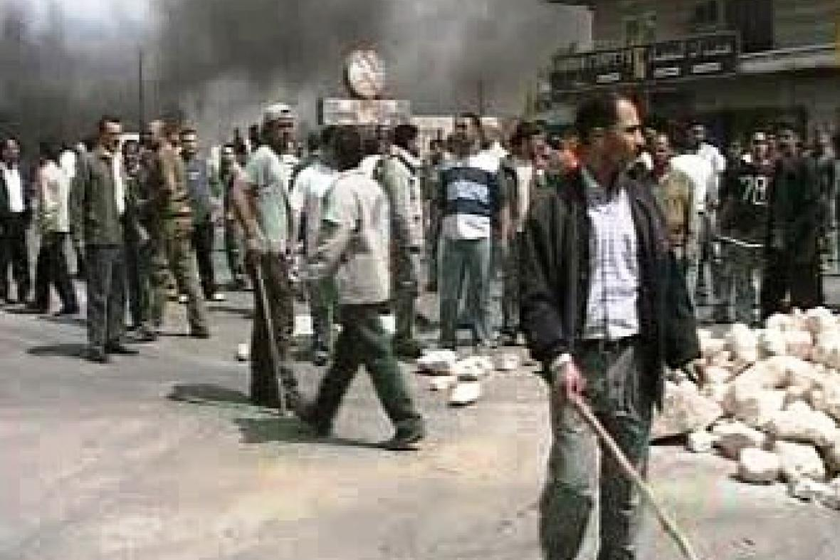 Nepokoje v Libanonu