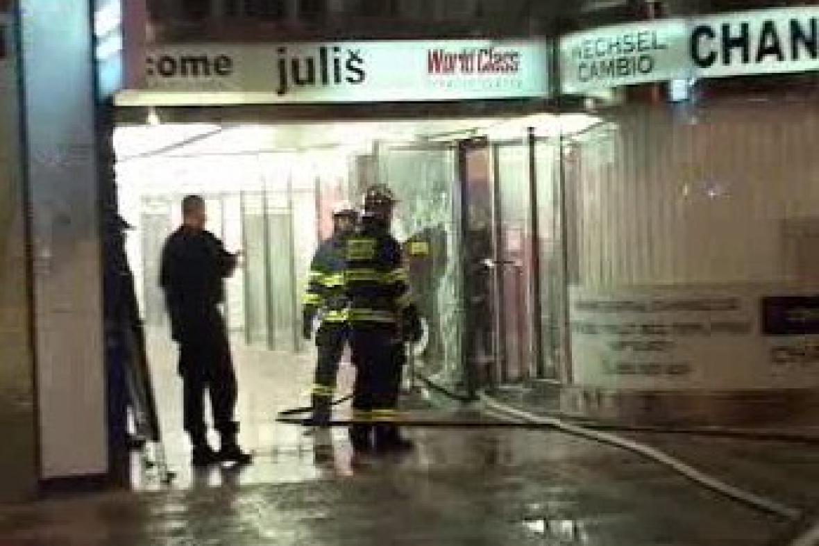 Požár hotelu Juliš