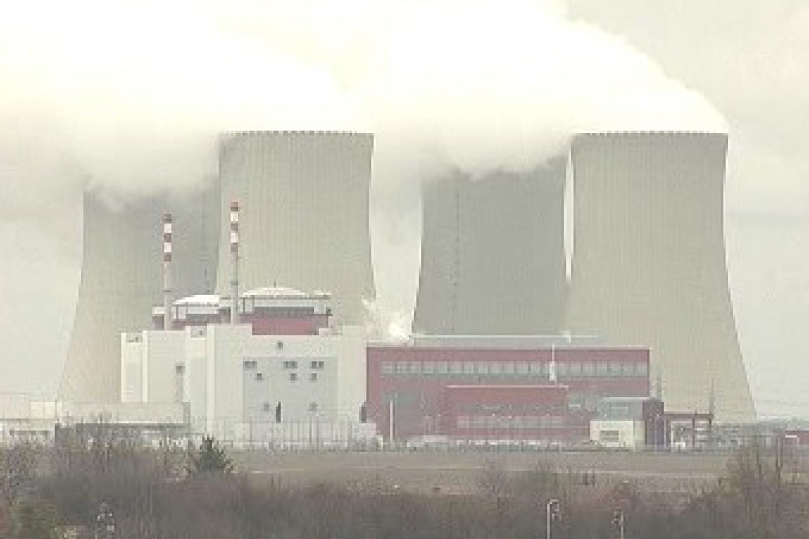 Temelínská elektrárna