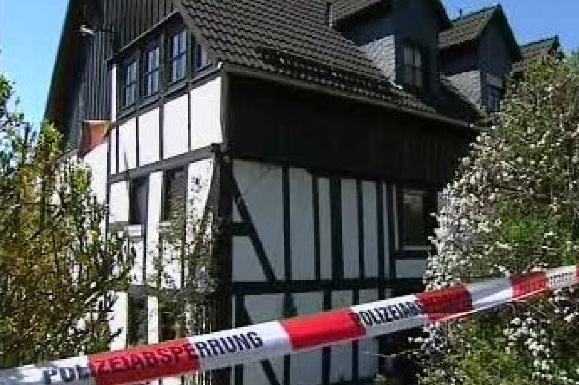 Wendenský dům, ve kterém byla nalezena těla dětí