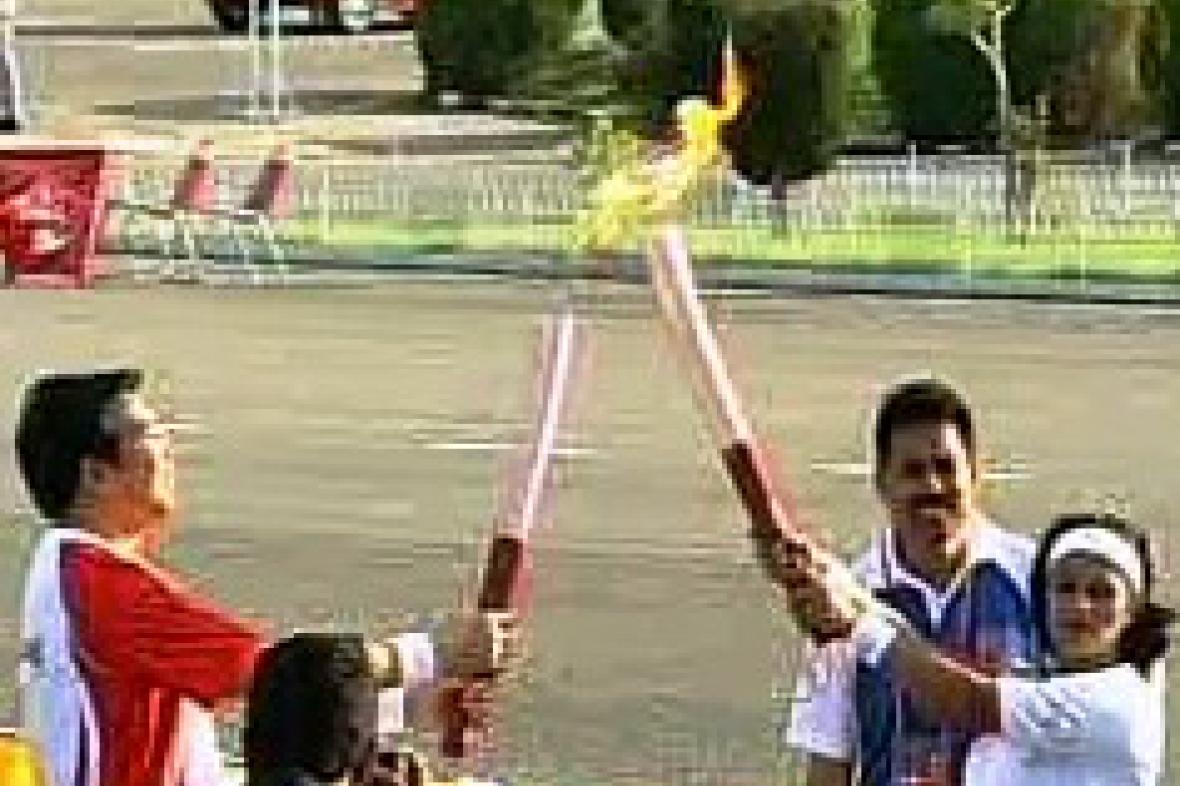 Olympijská pochodeň