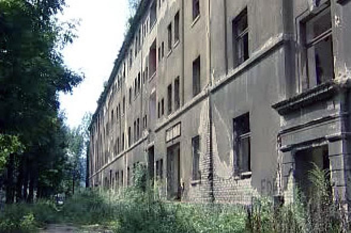 Nebezpečné domy v Ústí