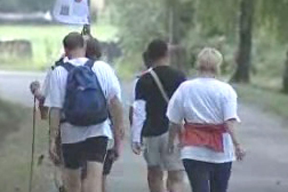 Expediční tým pochodu z Prahy do České Kanady