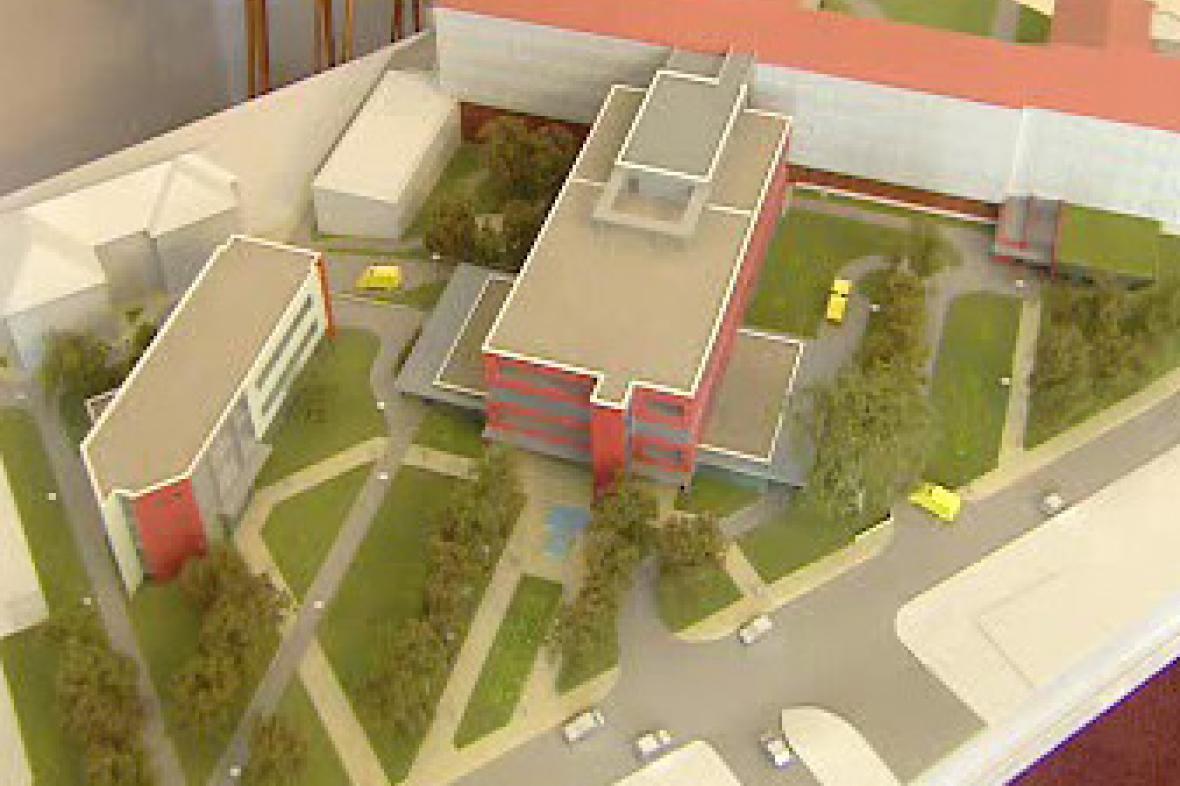 Projekt nemocnice v Příbrami