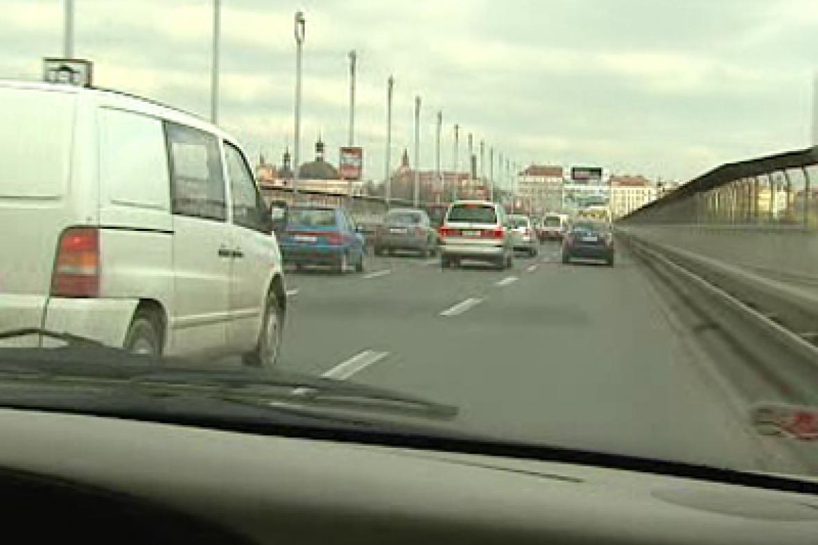 Provoz na Nuselském mostě