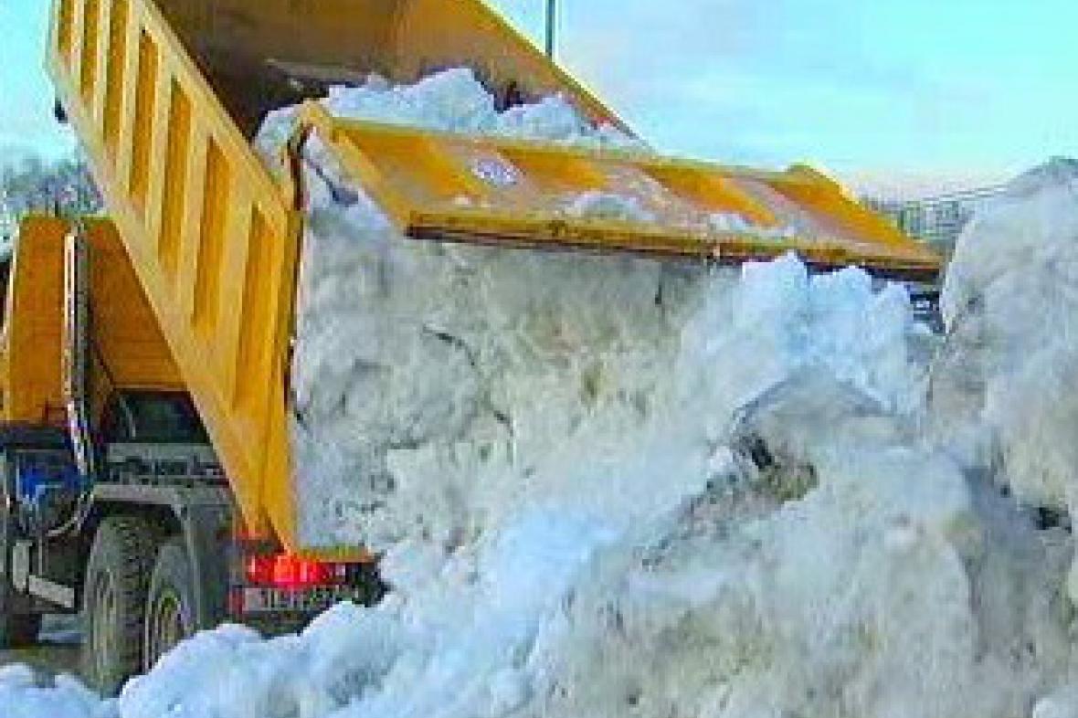 Navážený sníh