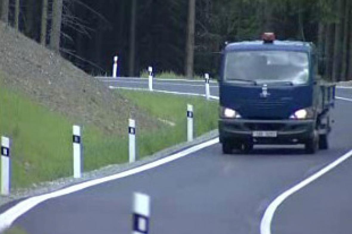 Silnice v jižních Čechách