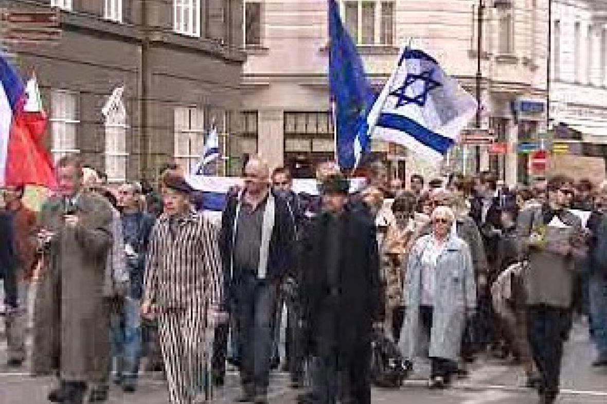 Pochod proti antisemitismu a rasismu