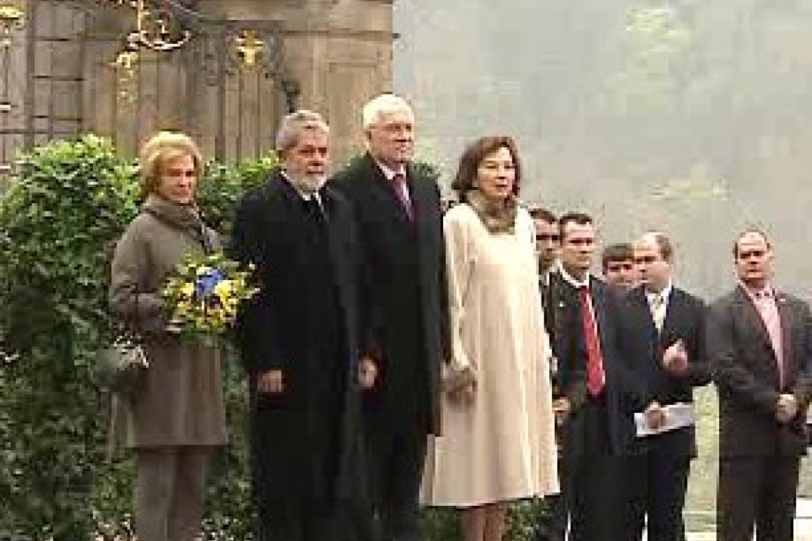 Návštěva brazilského prezidenta v ČR