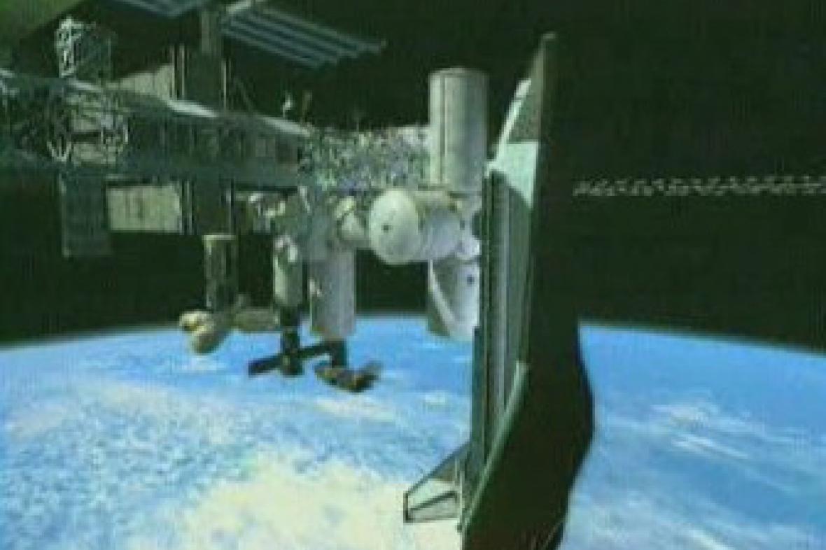 ISS - Mezinárodní vesmírná stanice