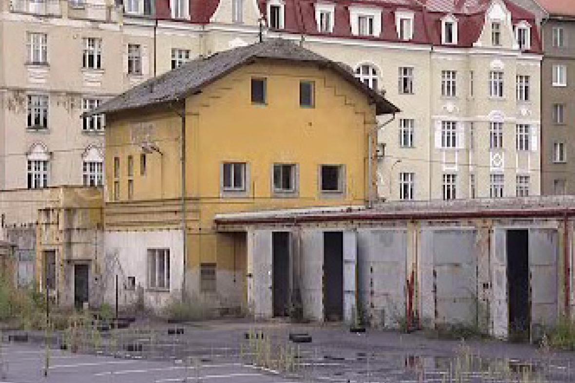 Areál bývalé mlékárny