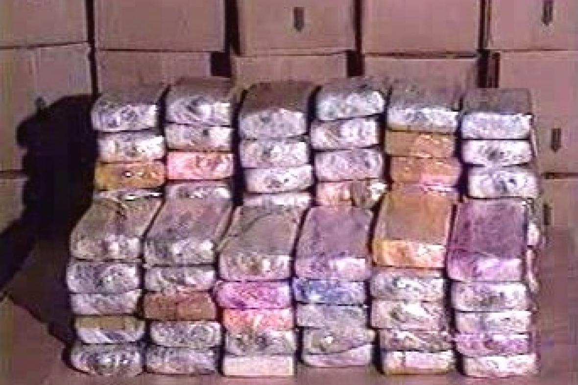 Zadržená zásilka drog