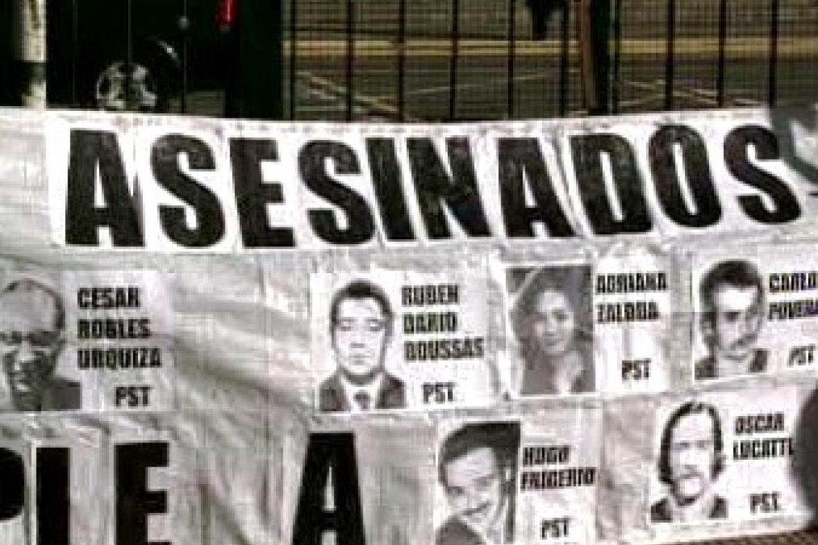 Argentina - oběti diktatury