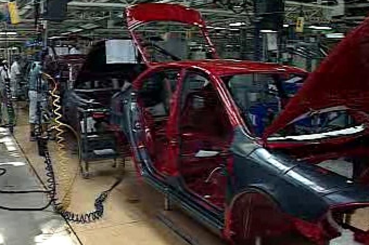 Výroba automobilu