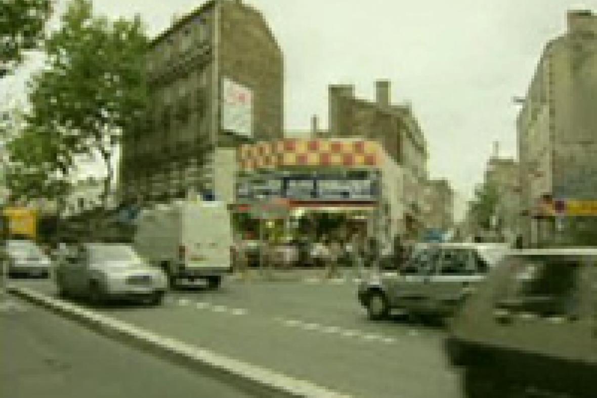 Jedno z pařížských předměstí