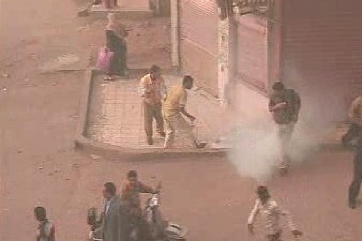 Nepokoje v Egyptu