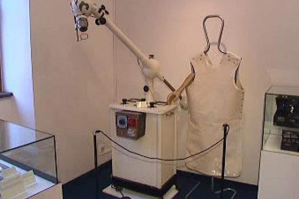 Výstava lékařských přístrojů