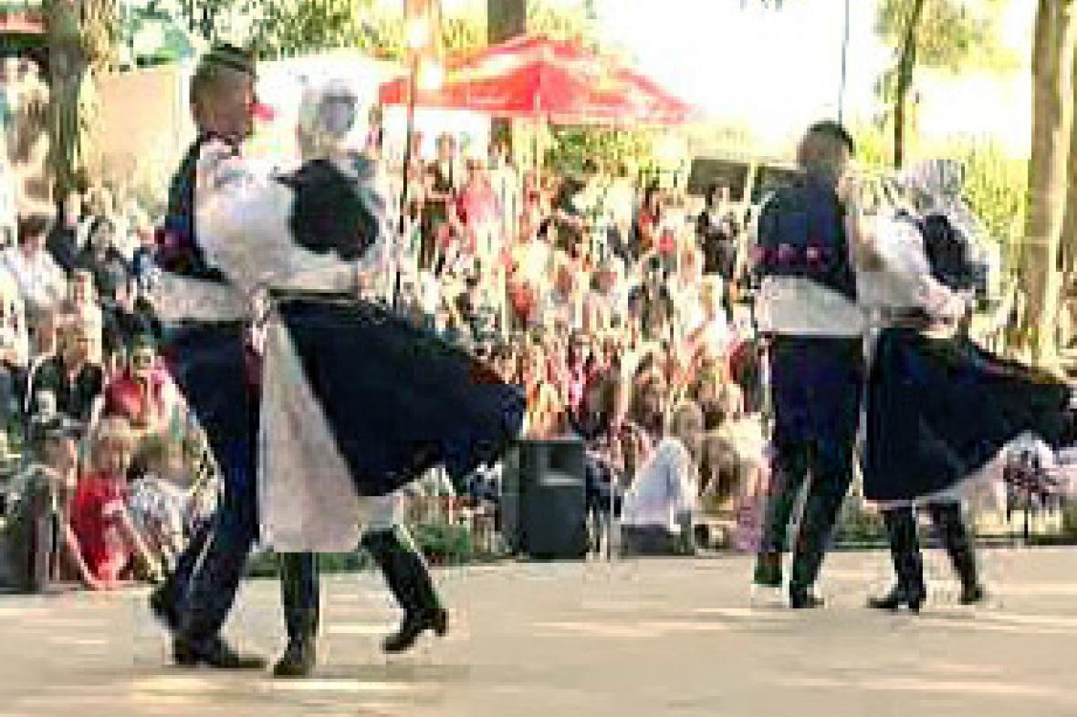 Mezinárodní folklórní festival v Červeném Kostelci