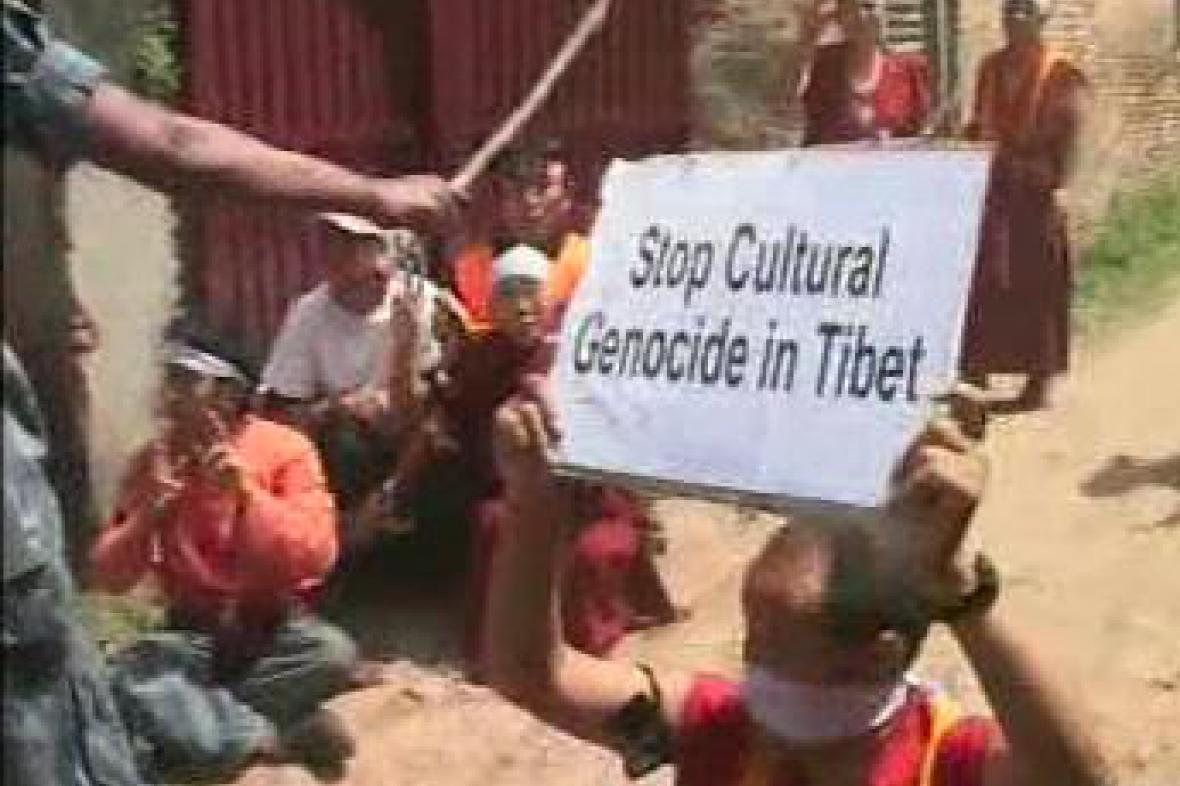 Protesty za osvobození Tibetu