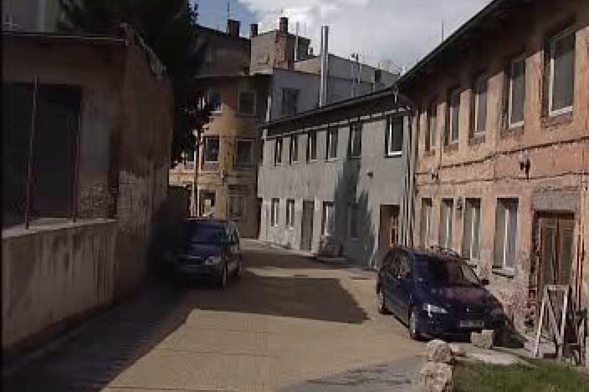 Vnitřní blok Švehlovy ulice