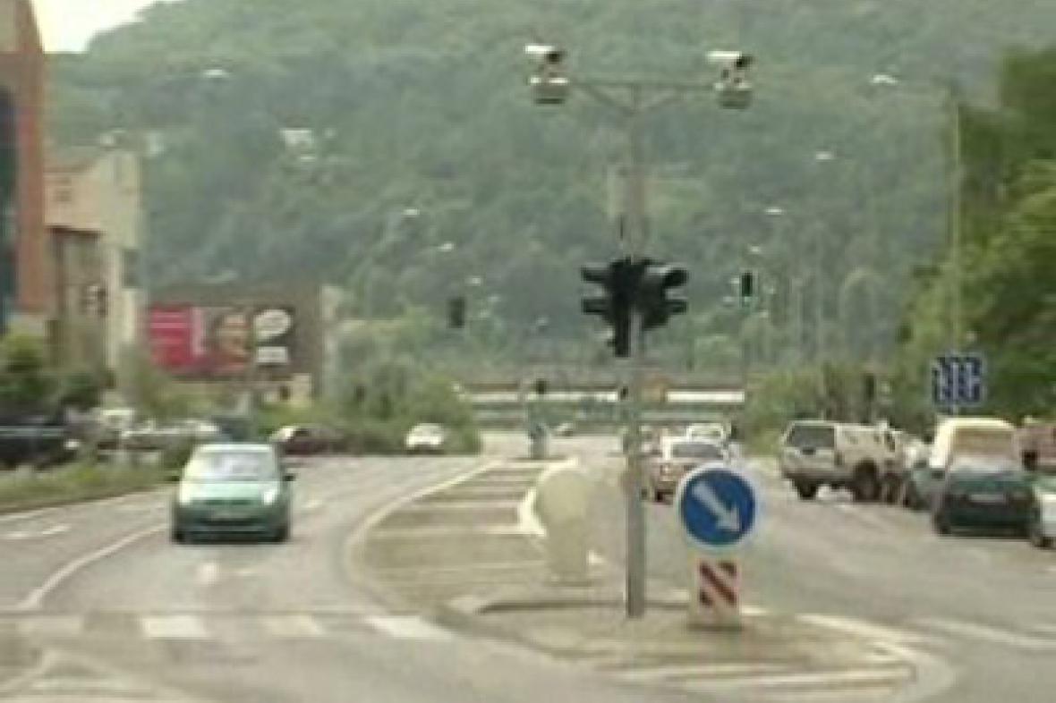 Radar na křižovatce
