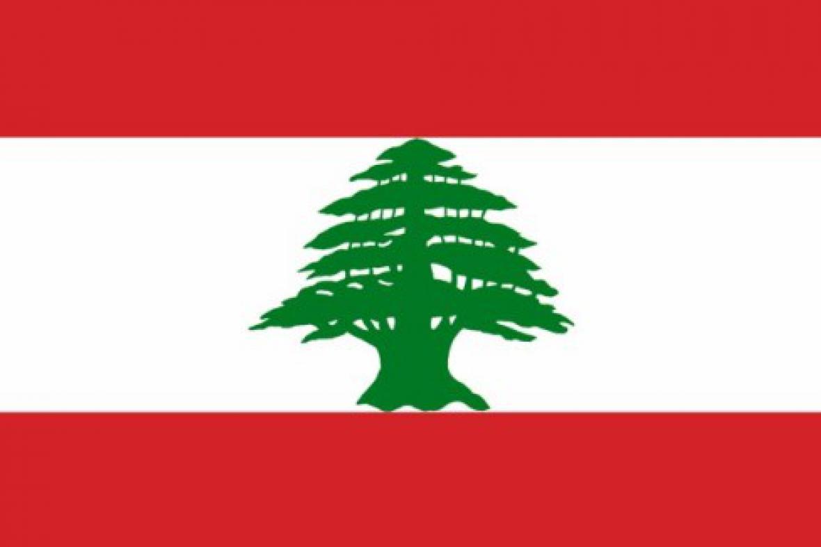 Libanonská vlajka