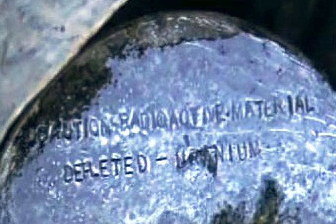 Zabavený uran