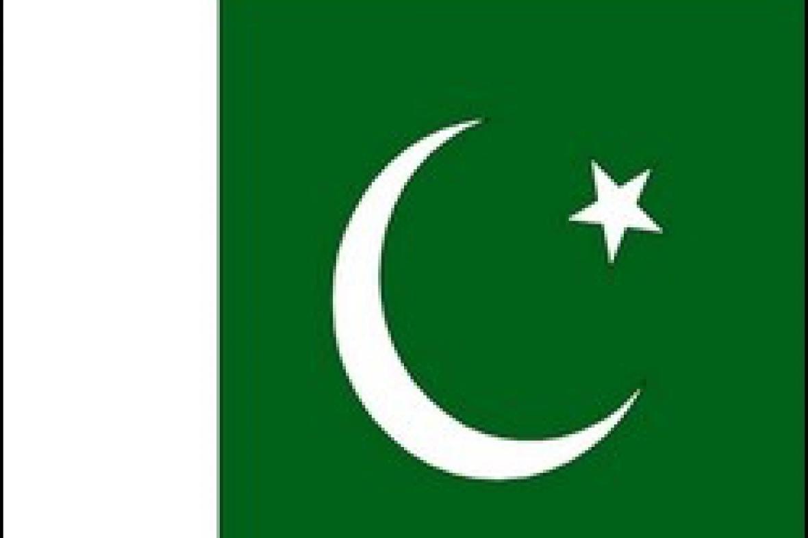 Vlajka Pákistánu