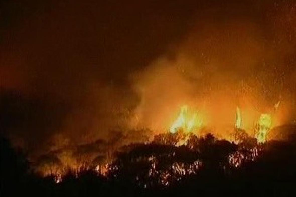 Požár v Austrálii