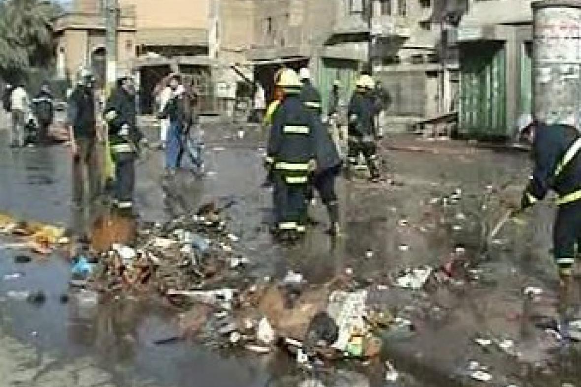 Výbuch v Iráku na tržišti